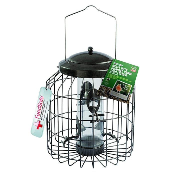 Gardman Heavy-Duty Squirrel Proof Seed Feeder