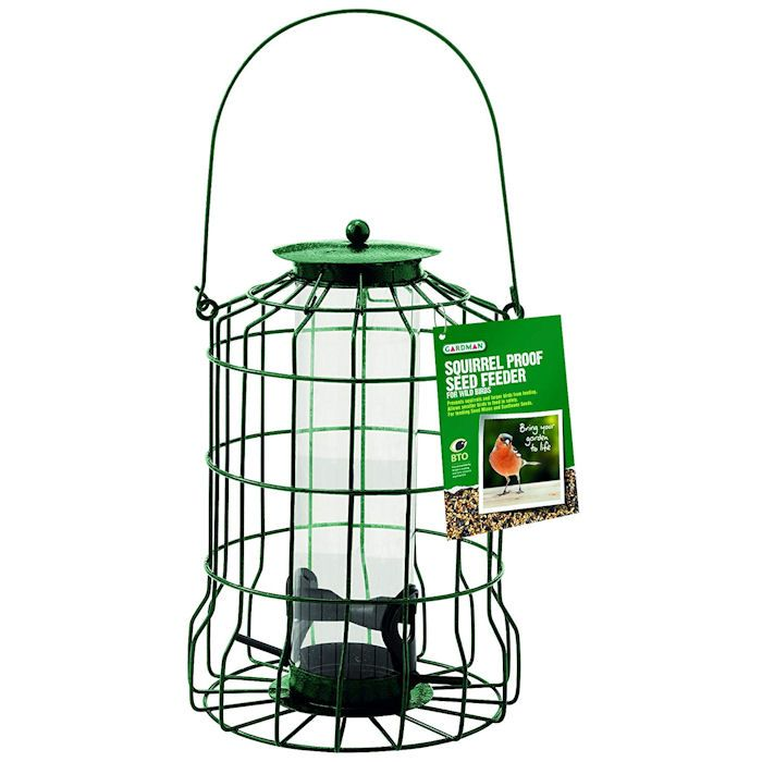 Gardman Squirrel Proof Seed Feeder