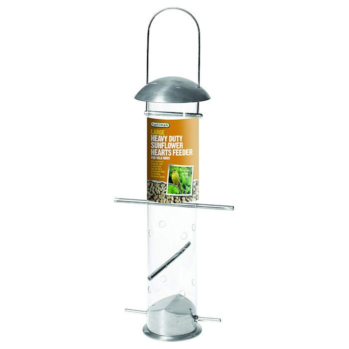 Gardman Heavy-Duty Sunflower Hearts Feeder