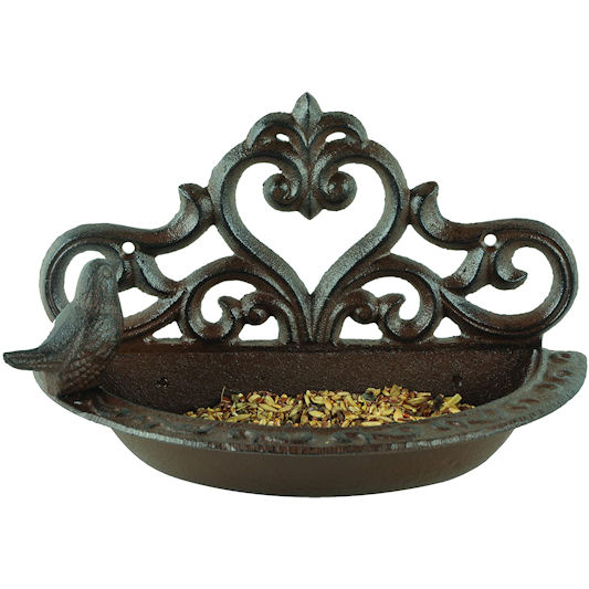 Fallen Fruits Metal Wall Mounted Bird Bath