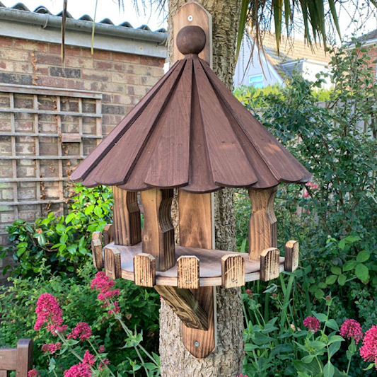 Garden Nature The Kirby Wall Mounted Bird Table