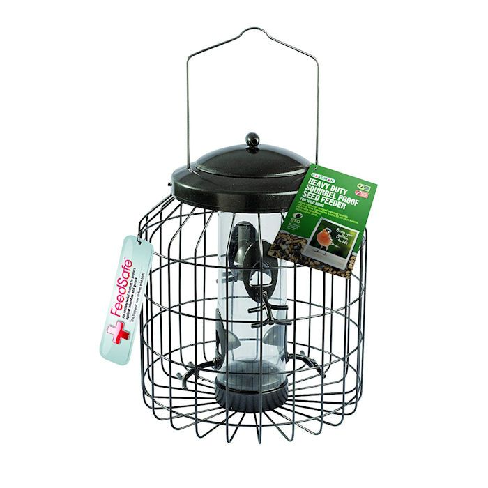 Gardmen Jackdaw proof seed feeder