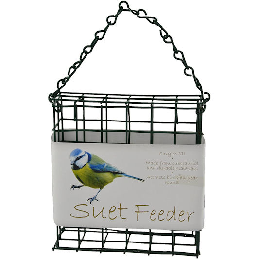 Green Jem Suet Bird Feeder