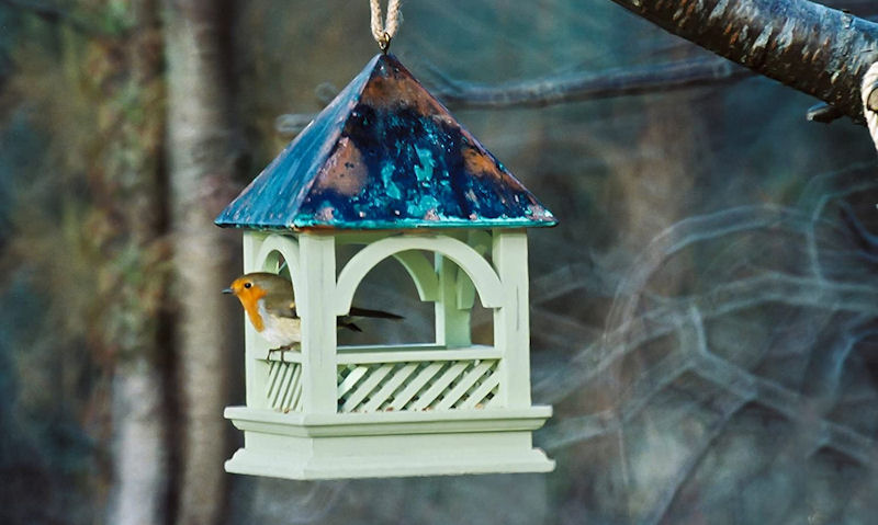 Hanging Bird Tables