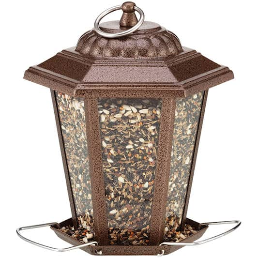 Happy Beaks: Carriage Style Lantern Feeder