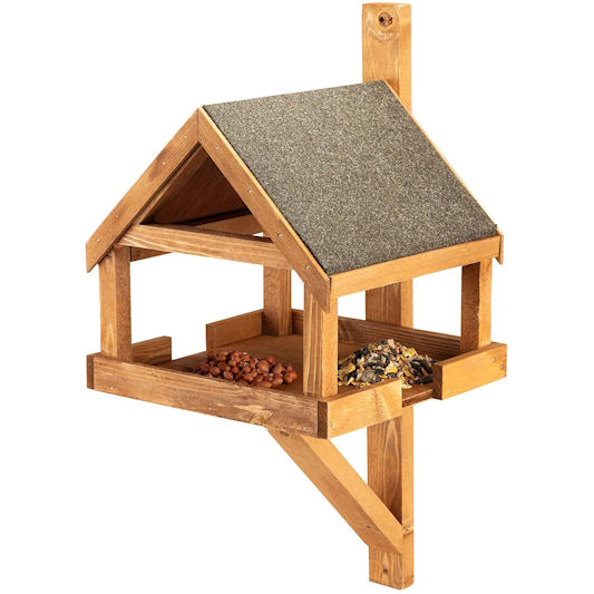 Home and Roost Hove Fence or Wall Mounted Bird Table
