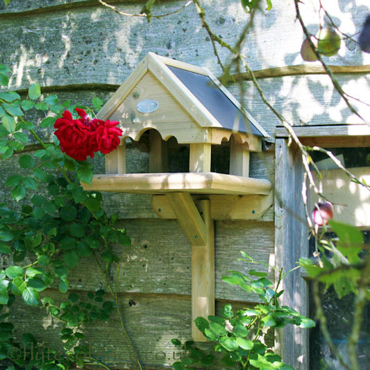 Huttons Richmond Wall Mounted Bird Table