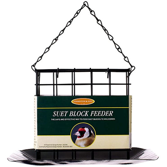 Johnston & Jeff Suet Block Feeder with Tray