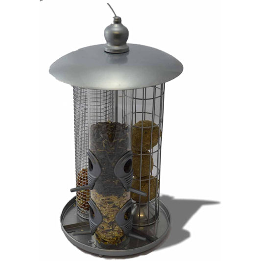 Kingfisher Deluxe 3 in 1 Suet, Seed & Nut Feeder
