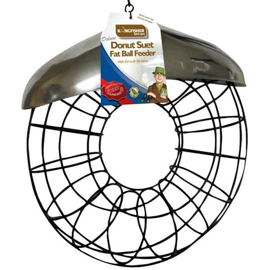 Kingfisher Deluxe Donut Suet Fat Ball Feeder