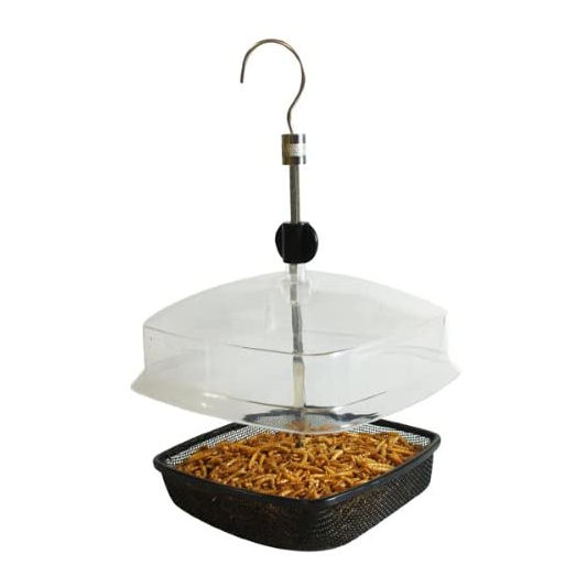 Nature's Market Mealworm Hanging Feeder Tray
