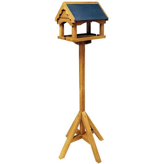 Nature's Market Slate Roof Bird Table
