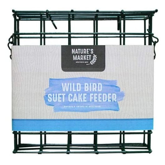 Nature's Market Wild Bird Suet Cake Feeder