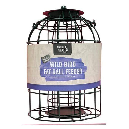 Nature's Market Wild Bird Fat Ball Feeder