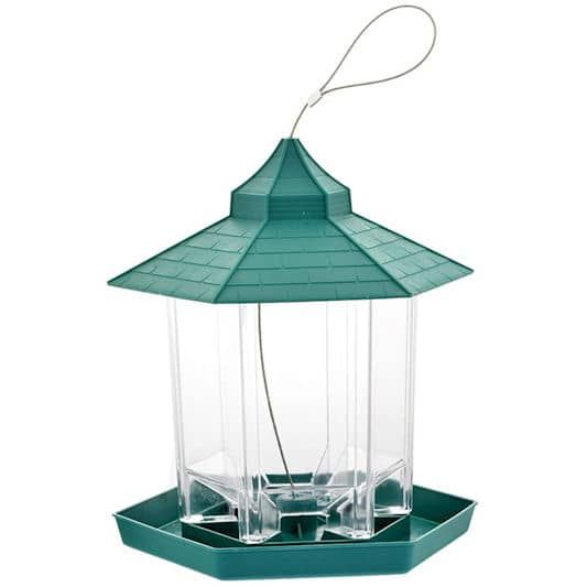 OurLeeme: Waterproof Lantern Bird Feeder