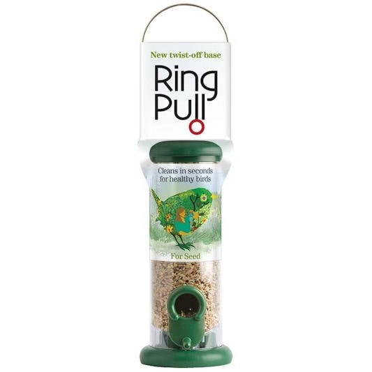 Ring-Pull Small Bird Feeder for Seeds