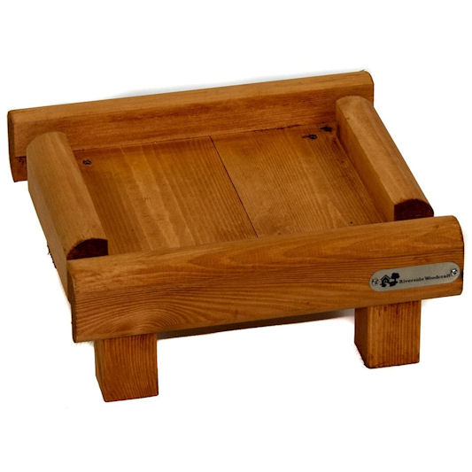 Riverside Woodcraft Ground Feeding Bird Table