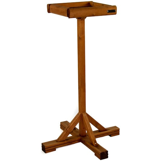 Riverside Woodcraft Large Open Bird Table