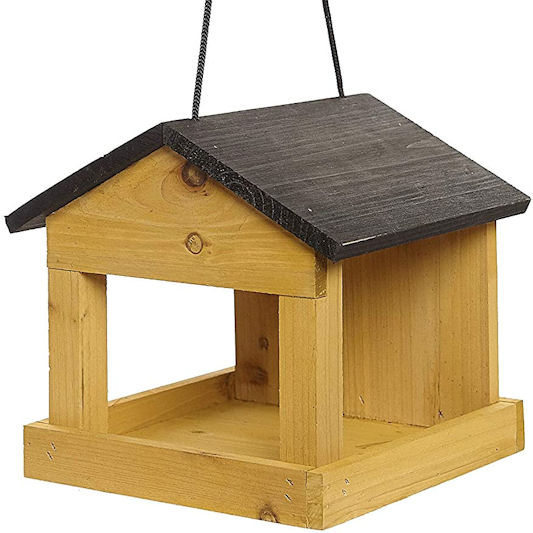 Ruddings Wood Hanging Wooden Wild Bird Table