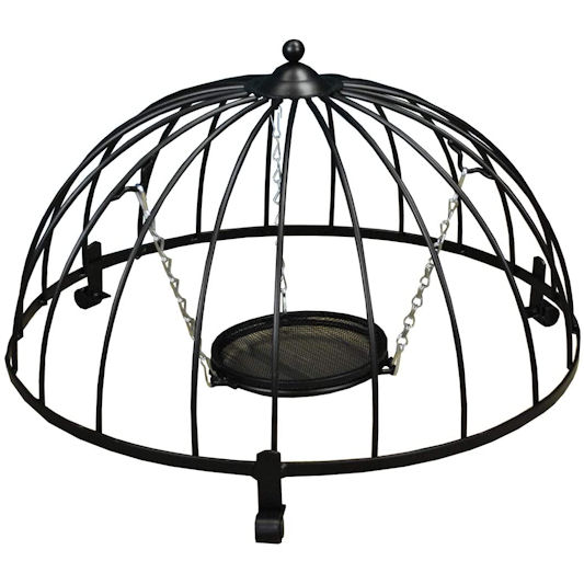 Selections Ground Bird Feeder with Haven Cage