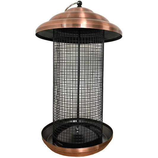 Selections Copper Style Large Nut Feeder