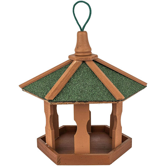 Skojig Hanging Wooden Bird Table