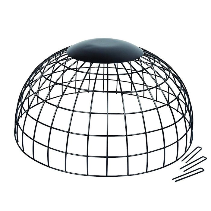 Gardman dome metal ground cage with pegs