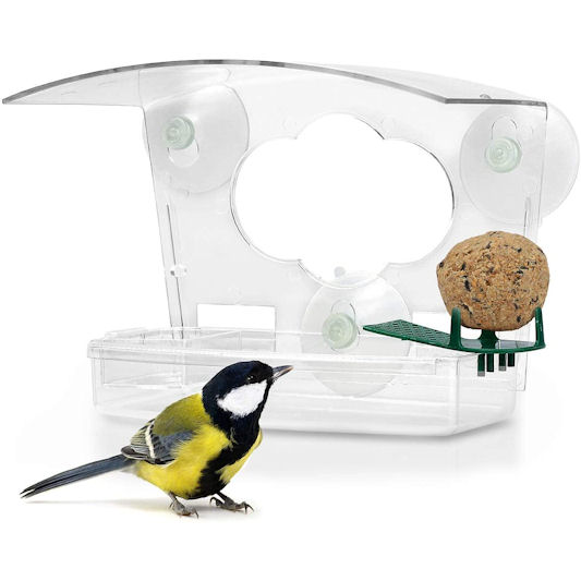 Wildlife Friend 3 in 1 Window Bird Feeder
